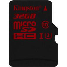 Карта памяти Kingston 4K microSDHC 32GB Class 10 UHS-I U3 R90/W80MB/s